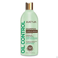"Kativa Oil Control Shampoo For Oily Hair - Шампунь ""контроль"" для жирных волос 500 мл"