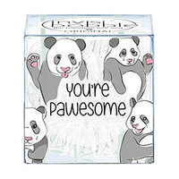 Invisibobble Power You're Pawesome! - Резинка для волос (молочный) 3 шт