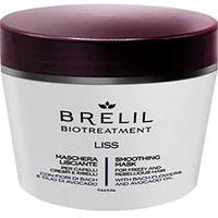 Brelil Bio Traitement Liss Smoothing Mask For Frizzy And Unruly Hair - Разглаживающая маска 250 мл