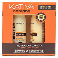 Kativa Hair Nutrition - Набор укрепляющий с кератином (шампунь 100 мл + кондиционер 100 мл)