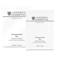 Janssen Hydrogel Mask Eye - Укрепляющие гидрогель-патчи для кожи вокруг глаз 10 шт