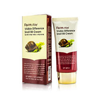 Farmstay Visible Difference Snail BB Cream - Крем ББ восстанавливающий улиточный 50 г