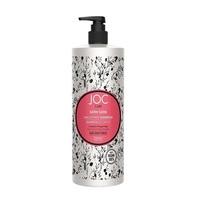 Barex Joc Care Satin Sleek Shampoo - Разглаживающий шампунь с льняным семенем и крылатой водорослью 1000 мл