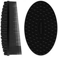 Double Dare I.M. Buddy - Массажная силиконовая щетка черная