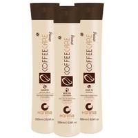 Honma Tokyo Coffee Care Strong - Набор для домашнего ухода за сильно поврежденными волосами (шампунь 300 мл, маска 300 мл, несмываемый кондиционер 150 мл)