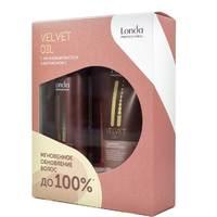 Londa Velvet Oil - Подарочный набор (шампунь 250 мл, профессиональное средство 200 мл)