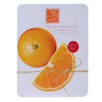 """Beauty Style Fruit Silk - Маска с апельсином и витамином с """"антистресс и омоложение"""" 7*30 г"""
