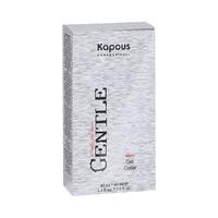 Kapous Professional Man Gel Color - Гель-краска для волос для мужчин без аммония №7.1 темный блондин пепельный (краска 40 мл + оксид 3% 40 мл)