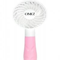 Double Dare OMG - Ручной вентилятор для сушки масок розовый