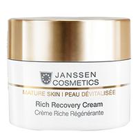 Janssen Mature Skin Rich Recovery Cream - Обогащенный антивозрастной регенерирующий крем с комплексом Cellular Regeneration 10 мл