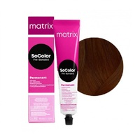 Matrix SoColor Pre-Bonder - Крем-краска для волос с бондером 4NW натуральный тёплый шатен 90 мл