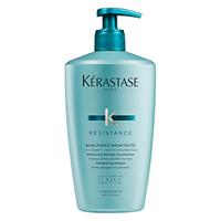 Kerastase Resistance Bain Force Architecte - Шампунь-ванна укрепляющий для поврежденных волос 500 мл