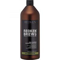 Redken Brews Daily Shampoo - Шампунь для ежедневного ухода за волосами и кожей головы 1000 мл