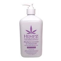 Hempz Blueberry Lavender & Chamomile Herbal Body Moisturizer - Молочко для тела увлажняющее лаванда, ромашка и дикие ягоды 500 мл