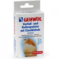 Gehwol Vorfub Und Ballenpolster Mit Elastikbinde - Защитная подушка под плюсну и накладка на большой палец из гель-полимера и эластичной ткани 1 шт