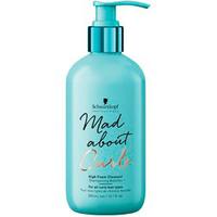 Schwarzkopf Mad About Curls High Foam Cleanser - Очищающий крем-шампунь для волос 300 мл