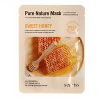 Anskin Secriss Pure Nature Mask Pack-Sweet Honey - Маска для лица тканевая 25 мл