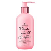 Schwarzkopf Mad About Lengths Shampoo - Бессульфатный шампунь для волос 300 мл