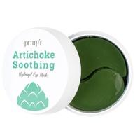 Petitfee Artichoke Soothing Hydrogel Eye Mask - Патчи гидрогелевые для глаз с экстрактом артишока освежающие и успокаивающие 60 шт