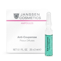 Janssen Skin Excel Glass Ampoules Аnti-Couperose (couperosed skin) - Антикупероз (куперозная кожа) 25*2 мл