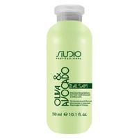 Kapous Studio Professional Olive And Avocado Balm - Бальзам увлажняющий для волос с маслами авокадо и оливы 350 мл