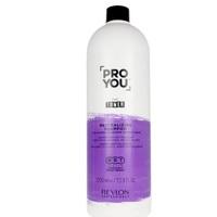 Revlon Professional ProYou Toner Neutralizing Shampoo - Нейтрализующий шампунь для светлых, обесцвеченных или седых волос 1000 мл