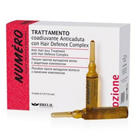 Brelil Numero Anti-Hair LossTreatment - Профилактический лосьон против выпадения волос с защитным составом Hair Defence Complex и Экстрактом Хмеля 10x7мл
