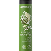 Selective Natural Flowers Hydro Shampoo - Аква-шампунь для частого применения 250 мл