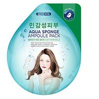 Frienvita Aqua Sponge Sensitive - Ампульная маска-крем для чувствительной кожи с гиалуроновой кислотой, центеллой и пептидами для лица 5*28 г