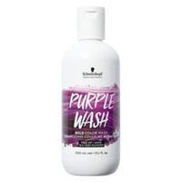 Schwarzkopf Professional Bold Color Wash Purple - Пигментированный шампунь фиолетовый 300 мл