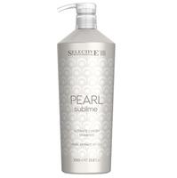 Selective Pearl Sublime Ultimate Luxury Shampoo - Шампунь с экстрактом жемчуга 1000 мл