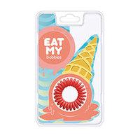 """EAT MY Bobbles Peach Сream - Резинки для волос """"сливочный персик"""" 3 шт"""
