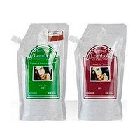 Gain Cosmetic Black Lombok Original Set Mahogana Brown - Система для ламинирования волос (красное дерево-коричневая) 2*500 г