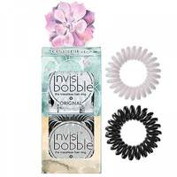 Invisibobble Original Desert Bloom Stuck On You - Набор резинок для волос (серый/черный)