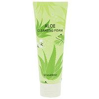 Seantree Aloe 100 Cleansing Foam - Пенка для умывания алое 120 мл