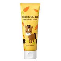 Seantree Horse Oil 100 Cleansing Foam - Пенка для умывания с лошадиным жиром 120 мл