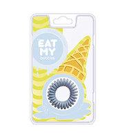 "EAT MY Bobbles Blueberry Сream - Резинки для волос ""сливочная голубика"" 3 шт"