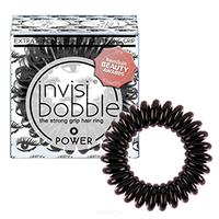 Invisibobble Power Luscious Lashe - Резинка для волос (черный металлик)