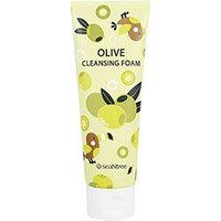 Seantree Olive 100 Cleansing Foam - Пенка для умывания олива 120 мл
