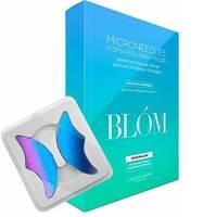 """BLOM Microneedle For Nasolabial Folds - Микроигольные патчи """"лакрица"""" для носогубных складок 4 пары"""