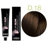L'Oreal Professionnel Inoa Glow Dark Base - Kрем краска для волос (тёмная база) 18 серо-коричневый 60 мл