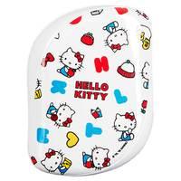 Tangle Teezer Compact Styler Hello Kitty Happy Life - Расческа для волос (белый/желтый)