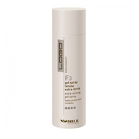 Brelil Logo F3 Extra Strong Gel Spray - Спрей-гель для волос экстра сильной фиксации 250 мл