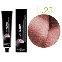 L'Oreal Professionnel Inoa Glow Light Base - Kрем краска для волос (светлая база) 23 розовый кварц 60 мл