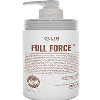 Ollin Full Force Intensive Restoring Mask With Coconut Oil - Интенсивная восстанавливающая маска с маслом кокоса 650 мл