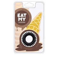 "EAT MY Bobbles Double Сhocolate - Резинки для волос ""двойной шоколад"" 3 шт"