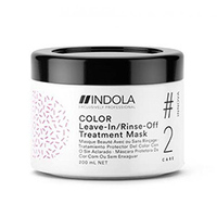Indola Color Leave-In/Rinse-Off Treatment - Маска для окрашенных волос 200 мл