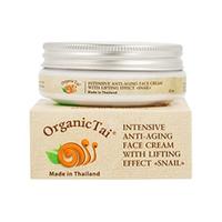Organic Tai Cream - Интенсивный антивозрастной лифтинг-крем для лица «с экстрактом улитки» 50 мл