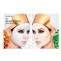 Double Dare OMG Honey Milk Drop - Двухкомпонентный комплекс масок глубокое очищение и увлажнение «мёд и молоко»