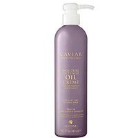 Alterna Caviar Anti-Aging Moisture Intense Oil Creme Pre-Shampoo Treatment - Подготавливающая сыворотка - шаг 1 из системы интенсивного увлажнения 487 мл